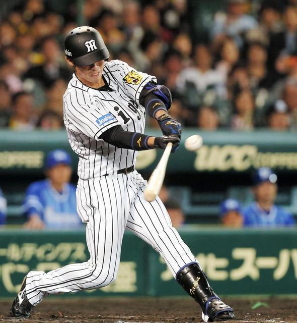 阪神江越(27)185試合.410(412-169)13本37打点10盗塁 OPS.615