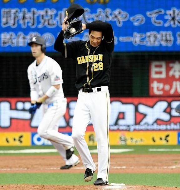 【阪神】小野が今季最短降板。4回4失点。