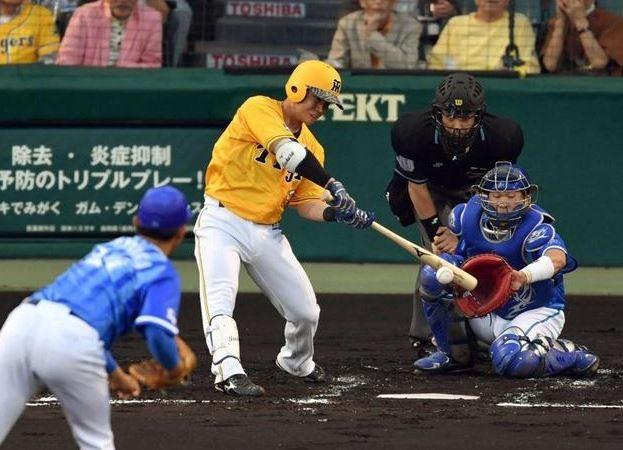 阪神糸原 打率.329 長打率.365←これ