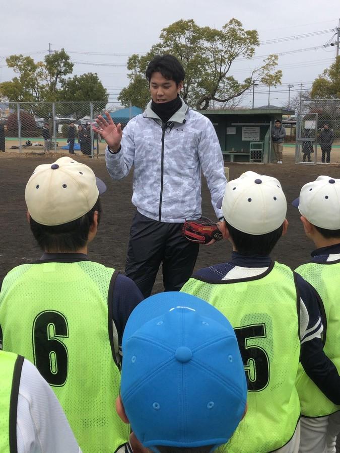 藤浪晋太郎が抱く危機感 野球教室で子どもたちに伝えたかったこと