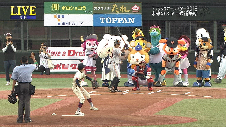 オールスターゲームの始球式www