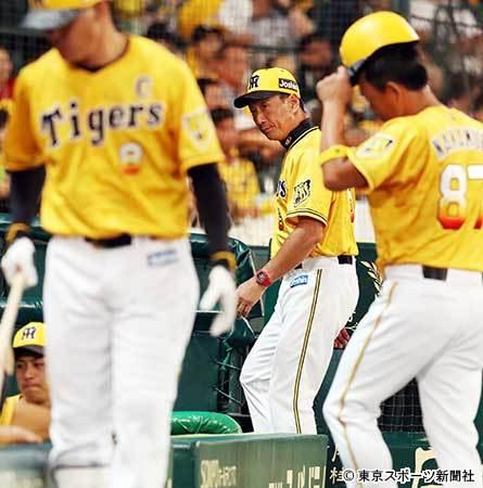 阪神・金本監督 甲子園での弱さに困惑「ここになると打てなくなるなあ」