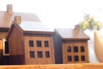 木の家模型