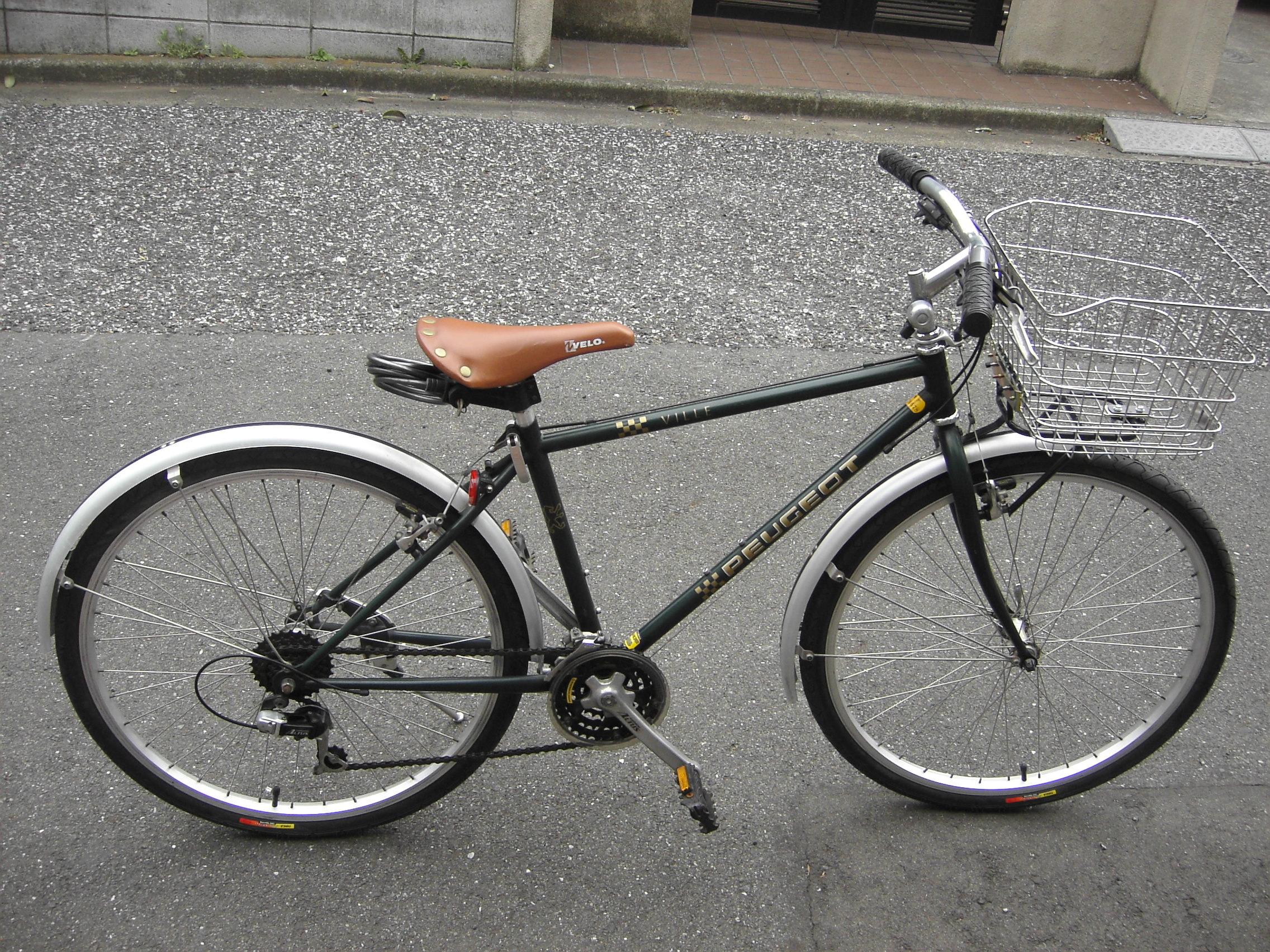 プジョー自転車(サイドビュー ...