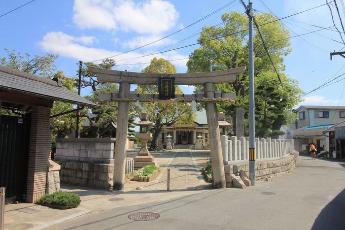 味府神社の鳥居