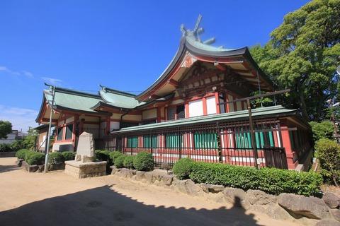 稲爪神社の本殿