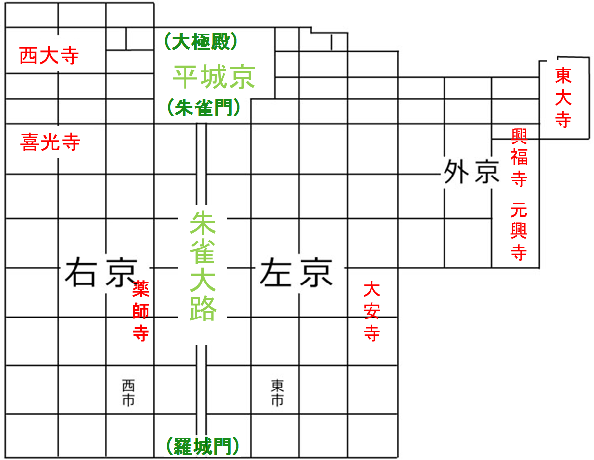 "「平城京」の画像検索結果"""