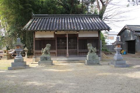 鏡作麻気神社2