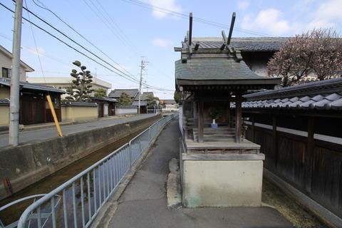 太田川(棚機神社より) (2)