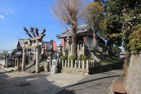 高宮神社全景