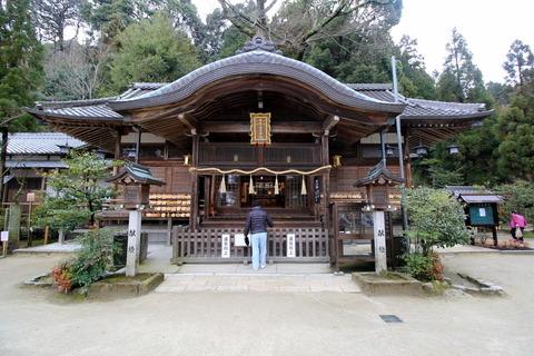 一言主神社拝殿