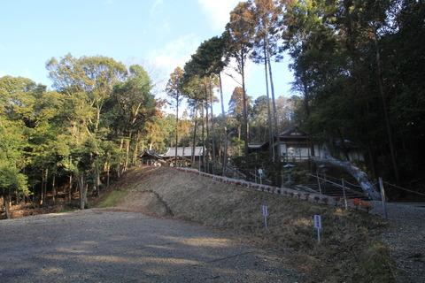登弥神社の社叢