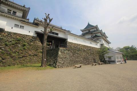 和歌山城の天守閣2