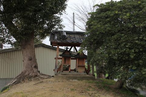 姫皇子神社末社2社