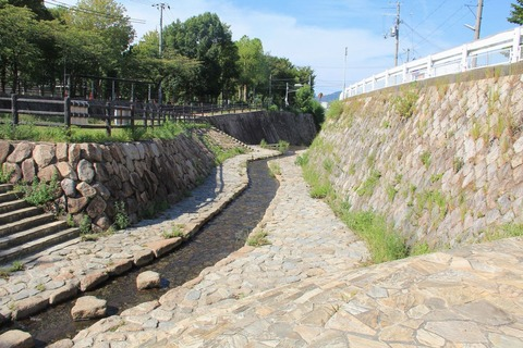 宇治川と宇治川公園