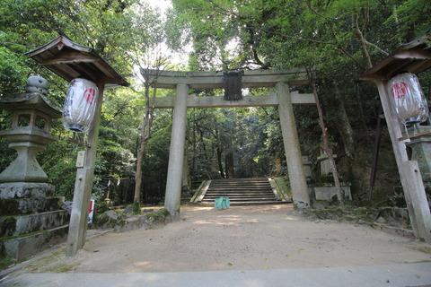 等彌神社2の鳥居