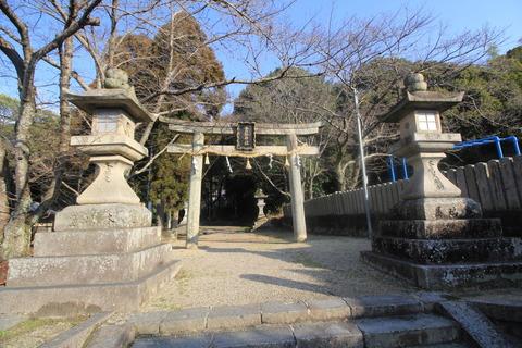 登弥神社の鳥居