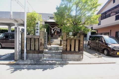 腕塚神社の祠1
