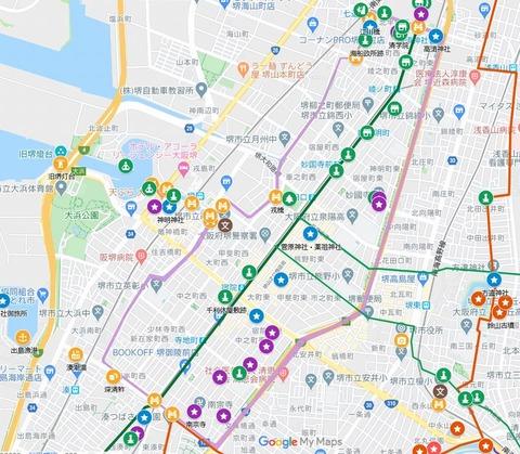 堺環濠マイマップ