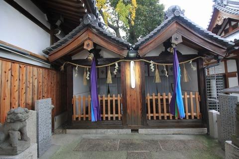 阿保親王社と厳島神社