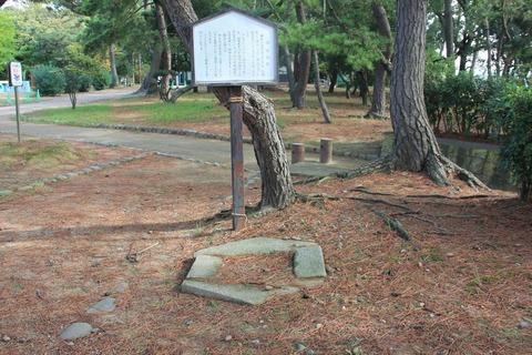 住吉神社の旧社地跡