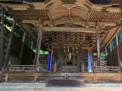 與喜天満神社の本殿2