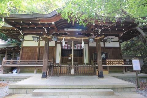 保久良神社の拝殿
