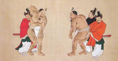 相撲節会(春日大社蔵)