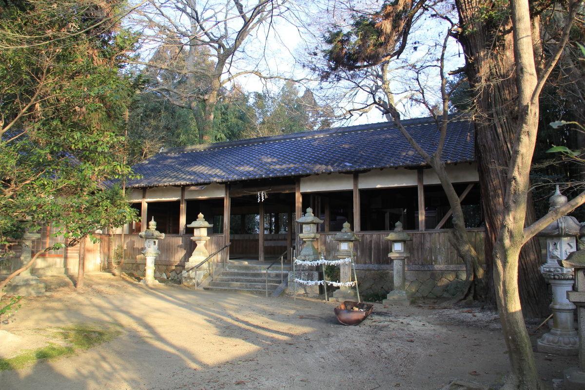 エナガ先生の講義メモ : 祝園神社(京都府・相楽郡・祝園・柞ノ森)