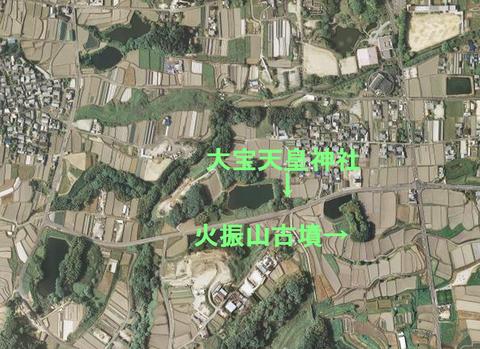 大宝神社鳥瞰図