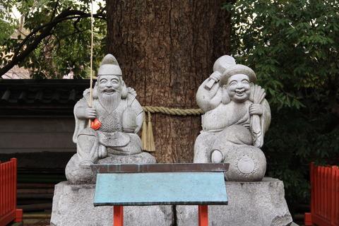 蛭子神社と出雲神社2