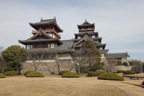 伏見城モニュメント