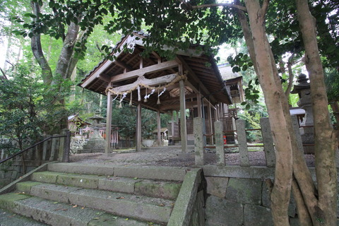 小畑神社の本殿1