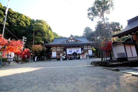 恩智神社3拝殿