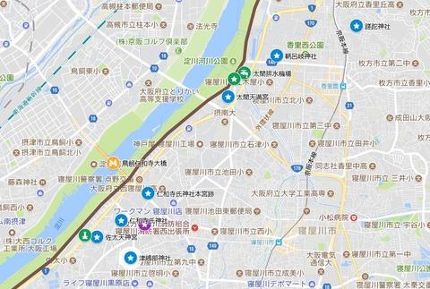 太間・仁和寺・佐太マイマップ