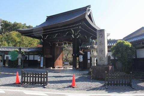 乃木神社の神門