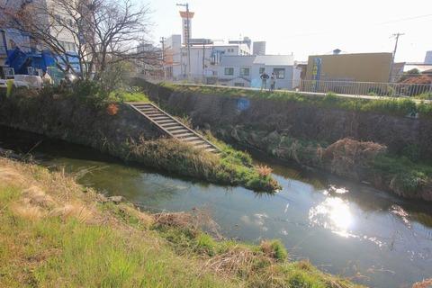 糸田川と上の川が合流