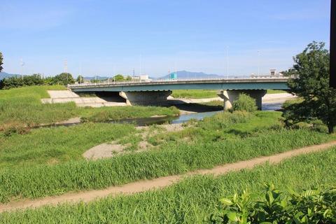 鴨川に架かる小枝橋