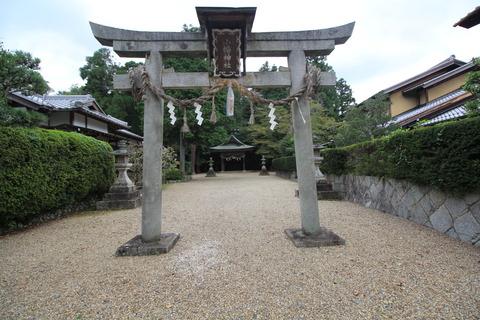 小畑神社の鳥居