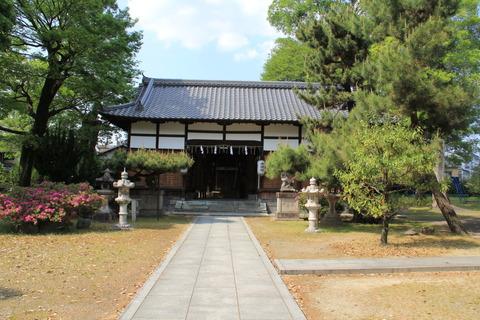 巨椋神社の拝殿