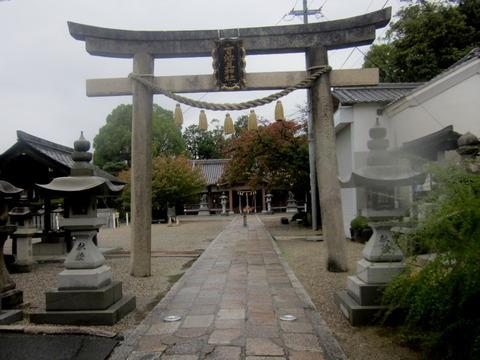 百済王神社鳥居