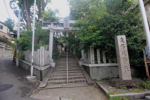 友呂岐神社西鳥居