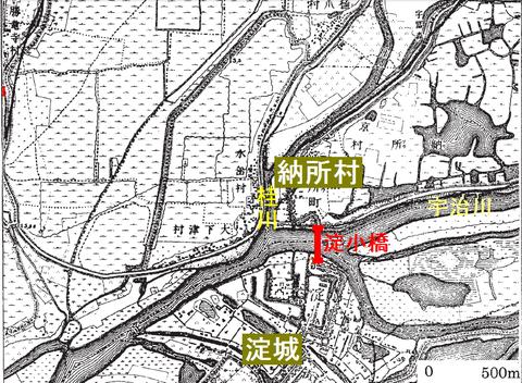 淀小橋地図