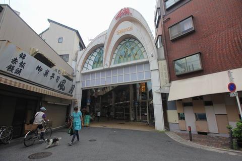 千林商店街東アーチ