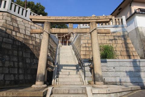 塩屋若宮神社の鳥居