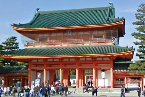 平安神宮の2重門