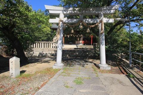 熊野神社の二の鳥居