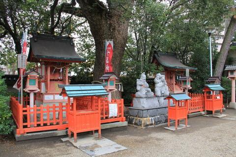 蛭子神社と出雲神社