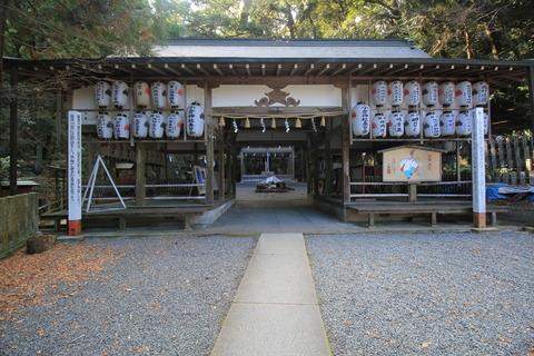 小倉神社の割拝殿