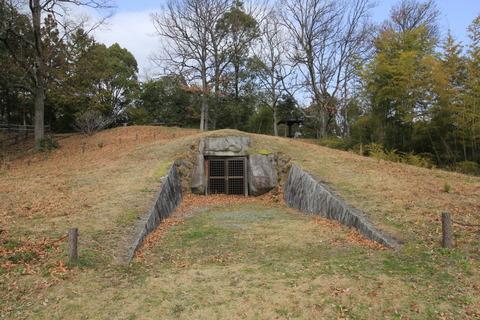 神名神社古墳1